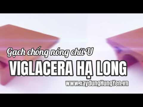 Gạch Chống Nóng Chữ U Viglacera Hạ Long | Gạch Chống Nóng Hạ Long | Gạch Ngói Viglacera Hạ Long
