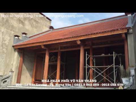 Ngói Sò Ngọc Sáng | Gạch Ngói Ngọc Sáng | Www.gachngoingocsang.com | Xây Dựng Hưng Yên
