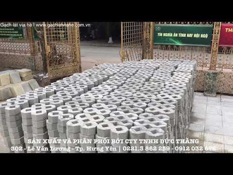 Gạch Lát Vỉa Hè - Gạch Trồng Cỏ Tại Công Trình | Xây Dựng Hưng Yên | Liên Hệ: 0221.3 862 259