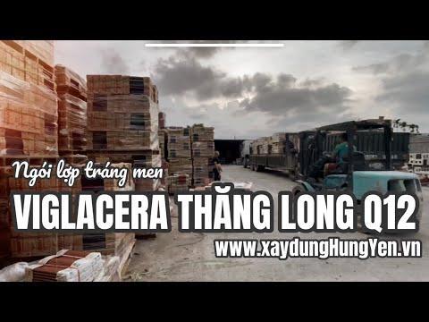 Ngói Lợp Tráng Men Xanh Viglacera Thăng Long Q12 | Phân Phối Bởi Cty TNHH Đức Thắng - 0221.3 862 259