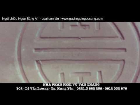 Ngói Chiếu Ngọc Sáng A1 - Loại Con Lăn | Gachngoingocsang.com | Gạch Ngói Ngọc Sáng