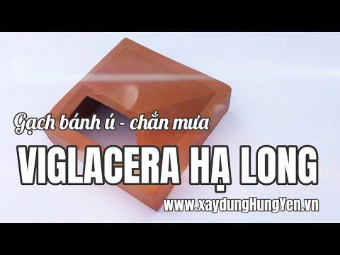 Gạch Thông Gió Bánh Ú - Gạch Bánh ú Viglacera Hạ Long 20x20 Cm | Gạch Trang Trí Viglacera Hạ Long