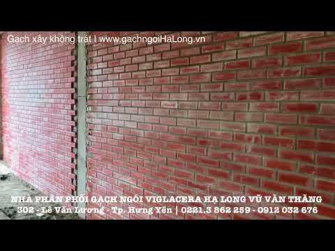 Gạch Xây Không Trát Trang Trí Viglacera Hạ Long | Gạch Ngói Hạ Long | Www.gachngoihalong.vn