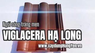 Ngói sóng tráng men Vi-clin - Viglacera Hạ Long màu cafe - Chocolate | Phân phối bởi Cty Đức Thắng