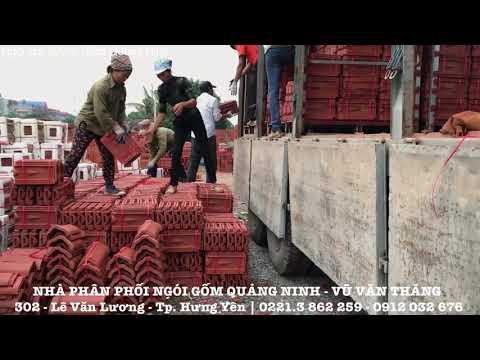 Ngói 22/m Gốm Quảng Ninh | Nhà Phân Phối Ngói Gốm Quảng Ninh Vũ Văn Thắng | Www.xaydungHungYen.vn