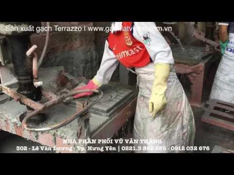 Sản Xuất Gạch Terrazzo - Gạch Lát Vỉa Hè | Www.gachlatviahe.com.vn