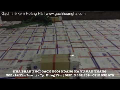 Gạch Thẻ Kem Hoàng Hà | Gạch Ngói Hoàng Hà | Xây Dựng Hưng Yên | Www.gachhoangha.com