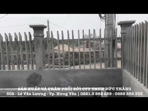 Hàng Rào Bê Tông Vát Cạnh Chất Lượng Cao Tại Hưng Yên | Hàng Rào Hưng Yên | Www.hangraoHungYen.com