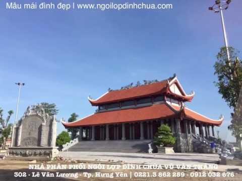 Mẫu đình Làng đẹp | Ngói Lợp đình Chùa | Www.ngoilopdinhchua.com