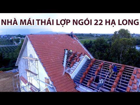 Dán Ngói 22 Hạ Long Biệt Thự Mái Thái | Gạch Ngói Hạ Long | Www.gachngoihalong.vn
