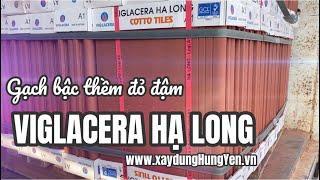Gạch bậc thềm đỏ đậm Viglacera Hạ Long tại kho hàng nhà phân phối Vũ Văn Thắng - Hưng Yên