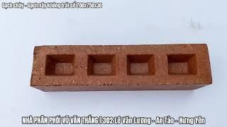 Gạch chày, gạch cổ xây không trát 700x750x30 dùng xây các công trình tâm linh như đình, đền, chùa.