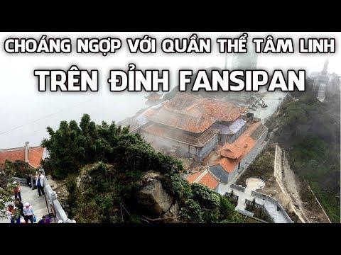Choáng Ngợp Với Quần Thể Tâm Linh Trên đỉnh Fansipan |Ngói Lợp Đình Chùa | Www.ngoilopdinhchua.com