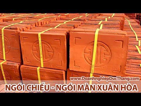 Ngói Chiếu - Ngói Màn A1 Xuân Hoà | Gạch Ngói Xuân Hoà | Www.doanhnghiepducthang.com