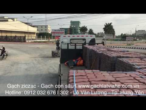 Cung Cấp Gạch Ziczac - Gạch Con Sâu Tại Thị Trấn Lương Bằng - Kim Động   Xây Dựng Hưng Yên