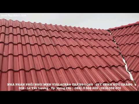Ngói Lợp Tráng Men Viglacera Thăng Long | Xây Dựng Hưng Yên | Liên Hệ: 0221.3 862 259 - 0912 032 676