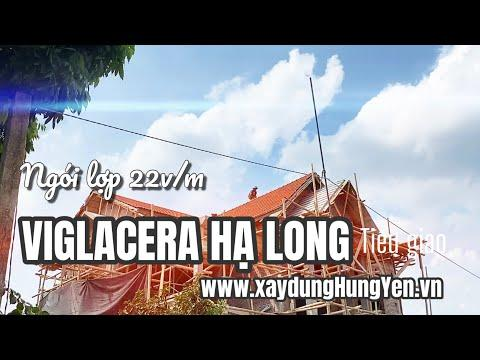 Biệt Thự Sử Dụng Ngói Lợp 22v/m Viglacera Hạ Long - Tiêu Giao   Nhà Phân Phối Vũ Văn Thắng