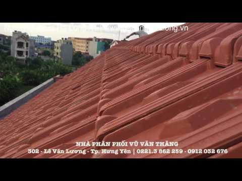 Mái Ngói Lợp 22v/m Viglacera Hạ Long A1 | Gạch Ngói Hạ Long | Www.gachngoihalong.vn