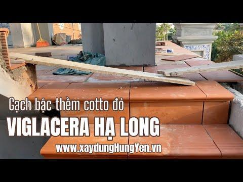 Gạch Bậc Thềm Cotto Viglacera Hạ Long đỏ | Gạch Bậc Thềm | Gạch Cotto | Gạch Ngói Viglacera Hạ Long