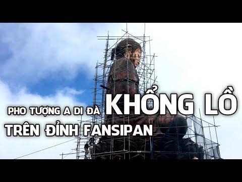 Pho Tượng A Di Đà KHỔNG LỒ  Trên đỉnh Fansipan    Www.ngoilopdinhchua.com