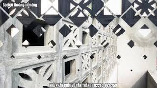 Gạch ô thoáng - Gạch bông gió xi măng tại Hưng Yên | Phân phối bởi cty Đức Thắng - Tp. Hưng Yên