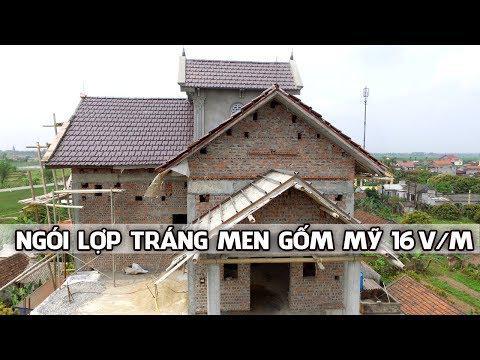 Ngói Lợp Tráng Men Gốm Mỹ 16v/m | Ngói 16 Indo | Nhà Phân Phối Vũ Văn Thắng | Www.gachngoiGomMy.com