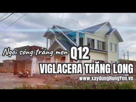 Ngói Lợp Sóng Tráng Men Viglacera Thăng Long Q12 | Ngói Lợp Nhà Mái Thái | 0221.3 862 259