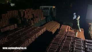 Nhập ngói lợp 22v/m Viglacera Hạ Long tại kho hàng nhà phân phối Vũ Văn Thắng - Tp. Hưng Yên