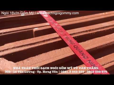 Ngói Lợp 16v/m Gốm Mỹ | Gạch Ngói Gốm Mỹ | Www.gachngoigommy.com